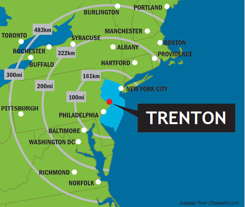 Trenton at the core of the region